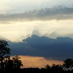 Atlanta fine art, Sun Shing through clouds