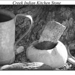 Creek Indian Kirchen Stone